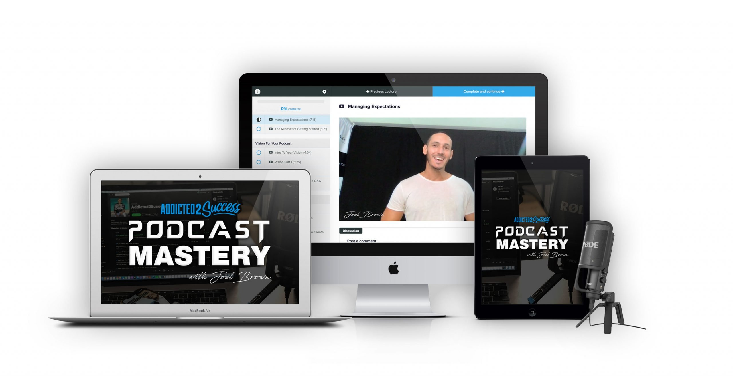 Joel Brown Podcast Mastery